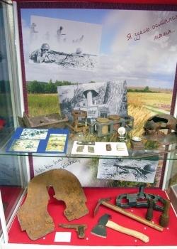 Музеи Курска. Предметы солдатского обихода
