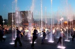 Музыкальный фонтан в Курске