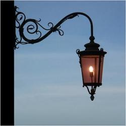 Первые фонари на улицах Курска