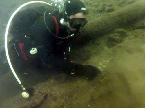 Дайверы нашли в Сейме клад