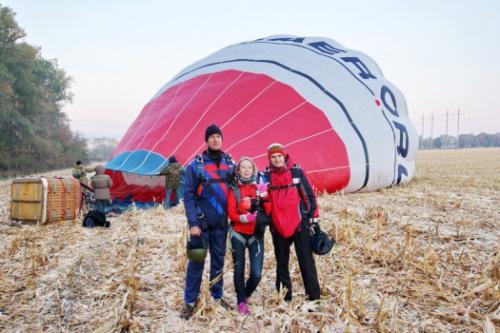 Впервые в Белгороде девушка прыгнула с парашютом с воздушного шара с высоты 4 300 метров